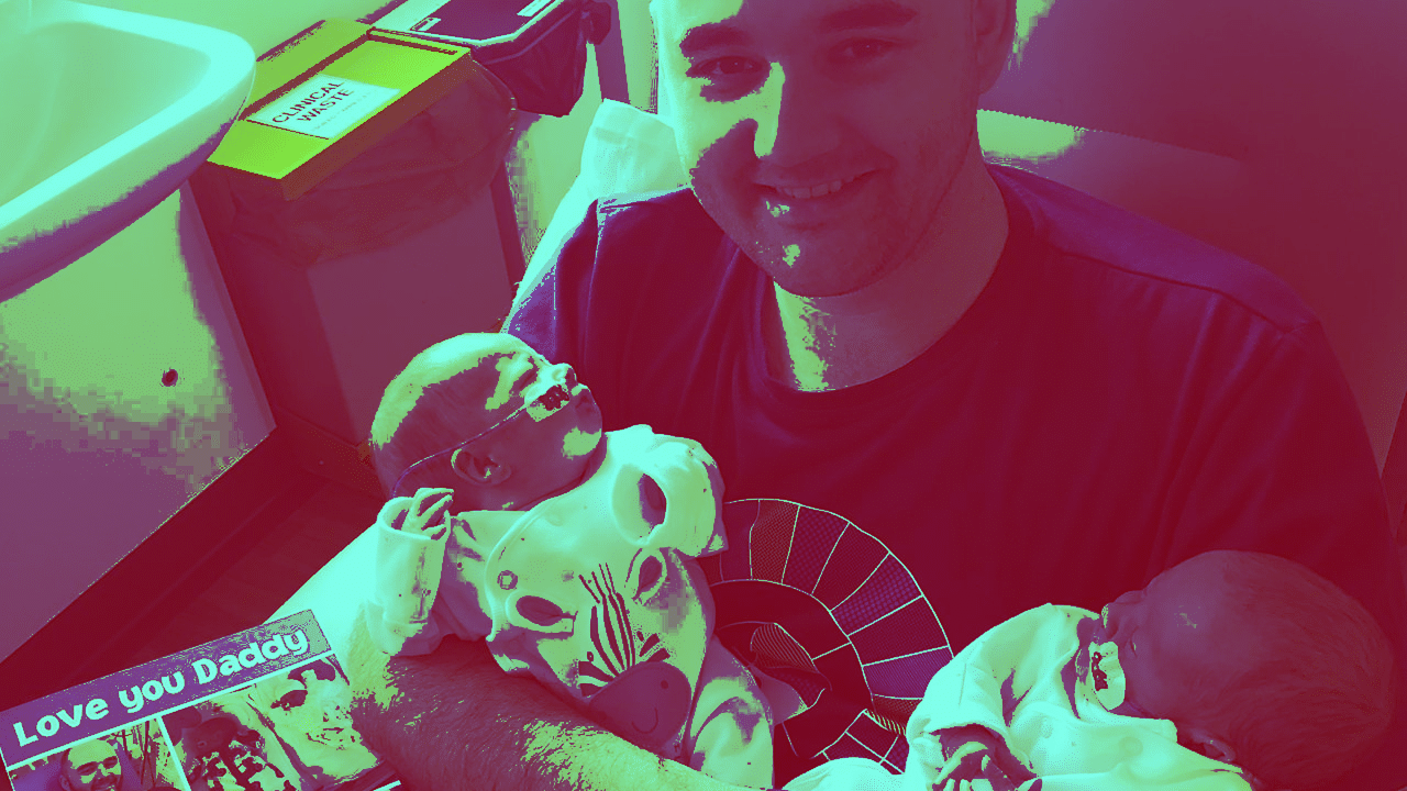 How does it feel to spend Father's Day in NICU?